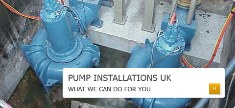 Pump Installations UK - What we can do for you